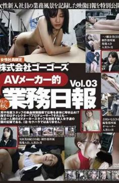 C-2278 – Go Gos Inc. Av Manufacturer's Business Daily Report Vol.03