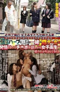 TIN-028 – School Girls Covet Ji Po And They Are Completely Estrus Once Burned Along With The Waste Aphrodisiac Herbs In The Garden Of My Home In The School Route Of School Young Lady Came Crowded Rise One After Another! !